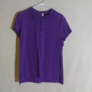 Collared shirt with pocket